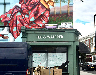 2019 Fed & Watered Signage