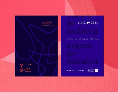 voces & música - concierto a beneficio en el CCK