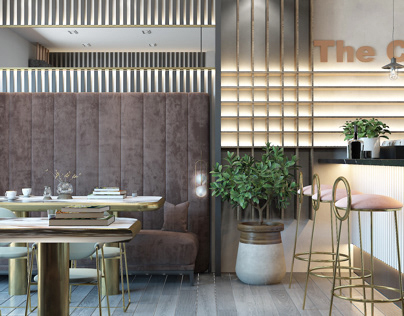 Light Modern Home cafe