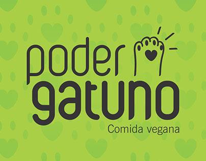 "Identidad de ""Poder Gatuno-Comida Vegana"""