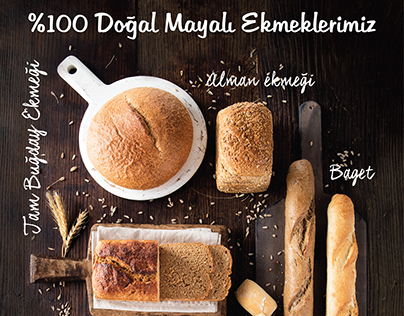 """In Bakery By Divan """"Doğal Mayalı Ekmek"""""""