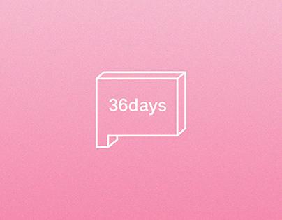 #36DAYSOFTYPE