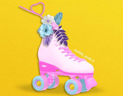 Roller Flower ! 🌸🌿