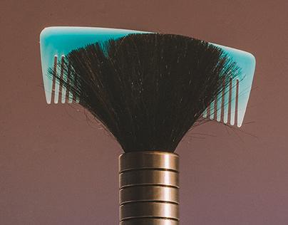 Hairdresser brushes