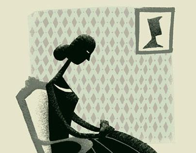 Thinking Woman / Pensando