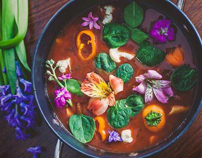Floral Food
