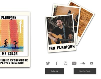 Rebranding ianflaniganmusic.com