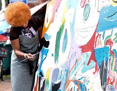 visual artist mural