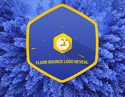 Floor Bounce Logo Reveal
