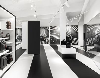 Samsonite showroom by i29