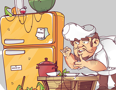chef / character design