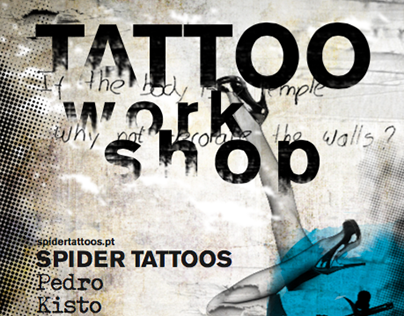 Tattoo workshop Spider Tattoos