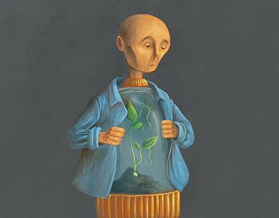 Inner Peas: Illustration