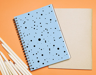 "Notebooks Collection ""Geometric blue"""