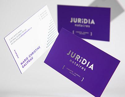 Juridia Notaires | Branding