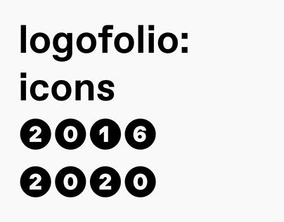 logofolio: icons 2016 – 2020