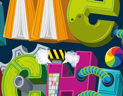 Scholastic Book Fairs Fall 2020 Time Machine Logo