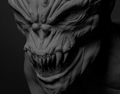 Demon - Sculpt