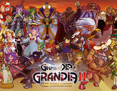 Grandia I + II Poster