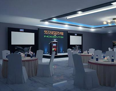 Corporate Event Setup & Decor (3D Visualization)