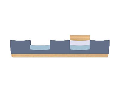 WAVY / seating furniture