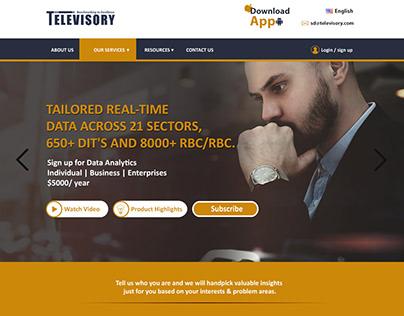 Televisory Website