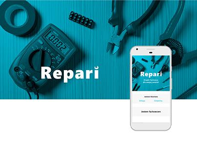 Repari - mobile app