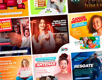 Social Media - TV Online, IPTV, Servidores