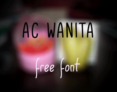 AC Wanita (Free Font)