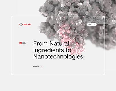 Valentis | Website