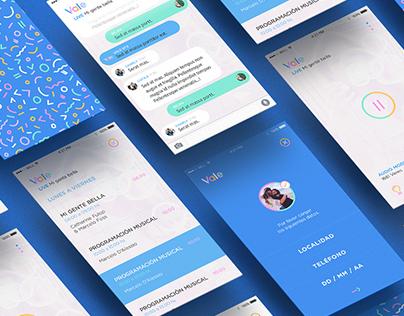 Vale 97.5 Radio | Branding, Website & App Design