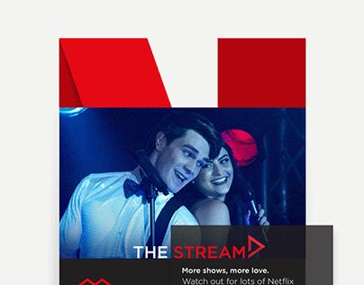 Influencer Marketing for Netflix Stream Team