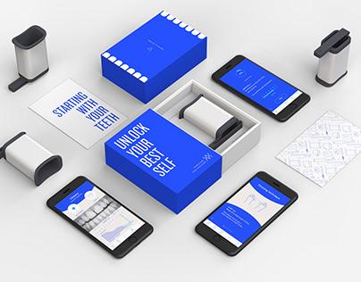 uunn - Branding & App Design