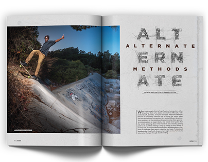 ALTERNATE METHODS | Editorial Design