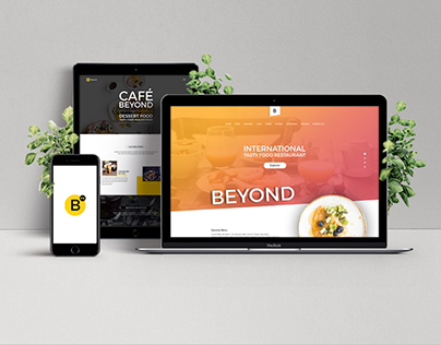 Beyond One Page Restaurant Templates PSD