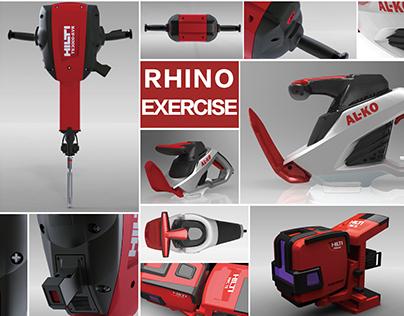 Rhinoceros Exercise