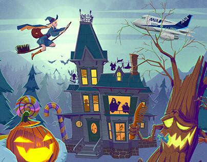 ANA - Happy Halloween