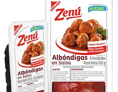 Zenu - Lanzamiento Albondigas en Salsa