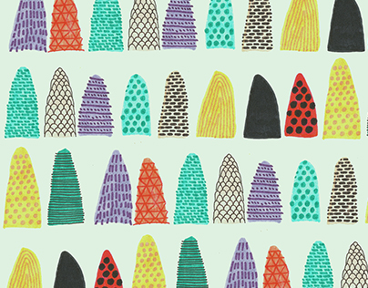 Scribbley Pattern Designs