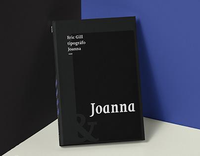 Poster Tipografía Joanna