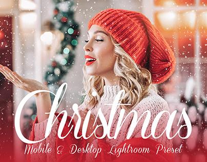 free Christmas preset