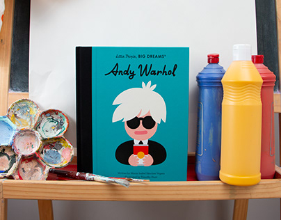 Little People, BIG DREAMS — Andy Warhol