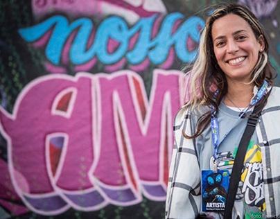 NOSSO AMOR Mural - MOS Brasil 2019
