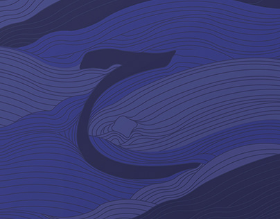 Waves - Letter Pattern