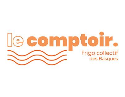 Logo : Le comptoir