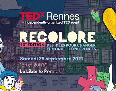 TEDxRennes 2021 - Motion design