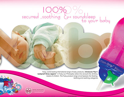 Nuby Newspaper Ad campaign