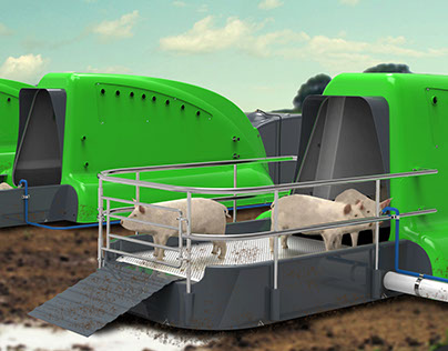Zulo, equipamiento para producción porcina extensiva