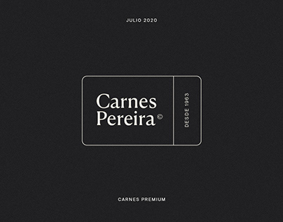 CARNES PEREIRA — Branding