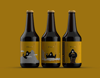 ULLA X ARK Beer Packaging